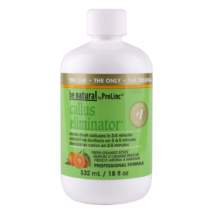 Be Natural Callus Eliminator Orange Средство для удаления натоптышей с запахом апельсина 532 ml